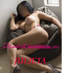 linda julieta mujer operada de senos y con excelente cola natural