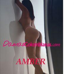 Amber, mujer con la mejor experiencia y cuerpo para vivir el sexo