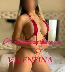 Valentina, mujer tierna, amable, ardiente y muy sexy de medellin