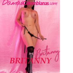 Britanny hermosa mujer prepago en la ciudad de Medellin