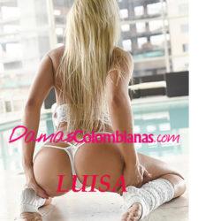 Luisa, linda chica prepago en Medellin